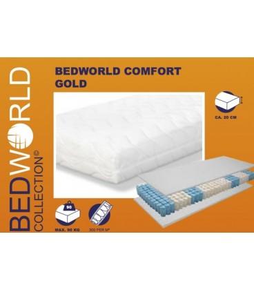 Comfort Gold pocketvering matras met koudschuim