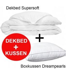 SetDeal: Dekbed Supersoft + Box Hoofdkussen